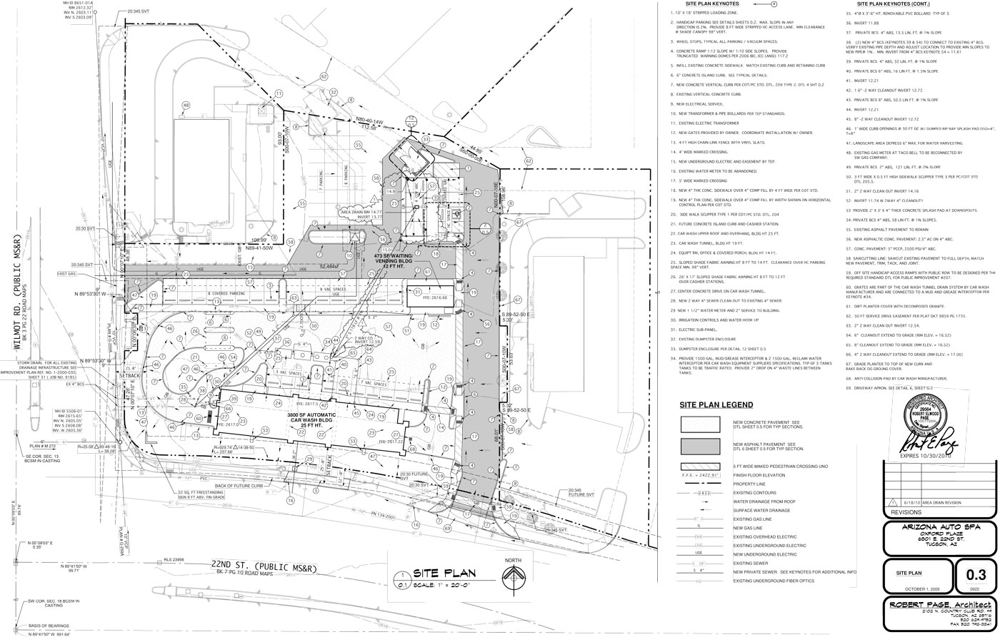 Site Plans Robert Page Architect – Car Wash Site Plans